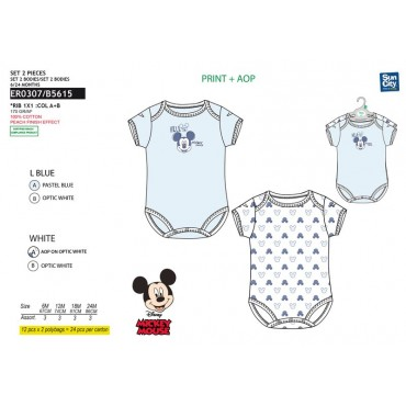 ER0307 - LOTE 2 BODIES MICKEY