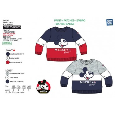 ET0075 - SWEAT MICKEY