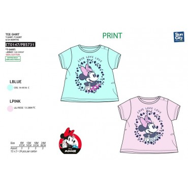 ET0147 - TSHIRT MINNIE