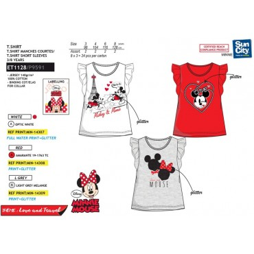 ET1128 - TSHIRT MINNIE