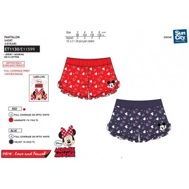 ET1130 - CALCAO JOGGING MINNIE