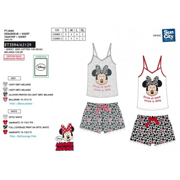 ET3594 - PIJAMA MINNIE
