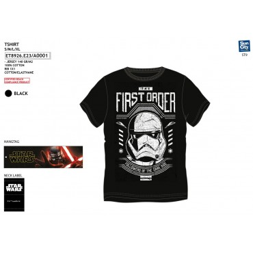ET8926.E23 - TSHIRT STAR WARS