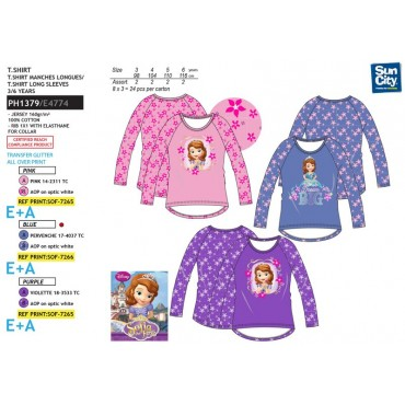 PH1379 - SWEATSHIRT PRINCESA SOFIA