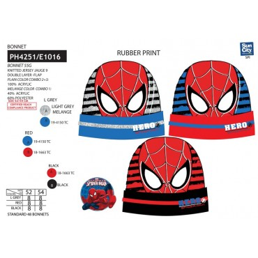 PH4251 - GORRO SPIDERMAN