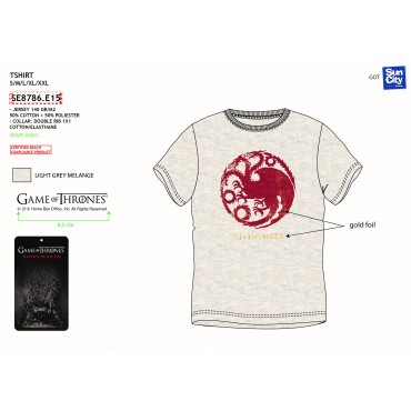 SE8786.E15 - TSHIRT GAME OF THRONES