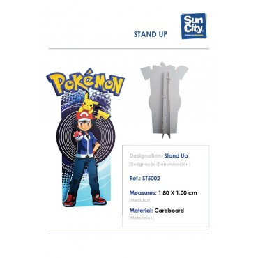 ST5002 - STAND UP 180X100CM POKEMON
