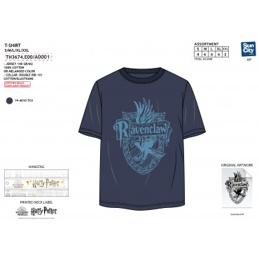 TH3674.E00 - TSHIRT HARRY POTTER