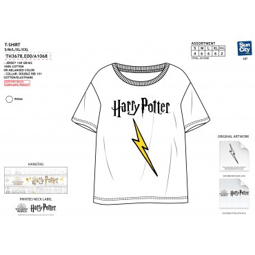 TH3678.E00 - TSHIRT HARRY POTTER