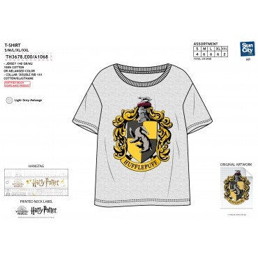 TH3682.E00 - TSHIRT HARRY POTTER