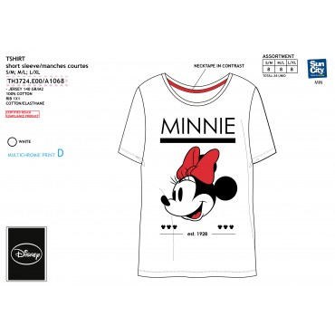 TH3724.E00 - TSHIRT MINNIE