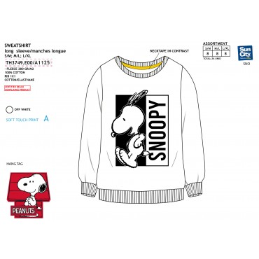TH3749.E00 - SWEAT SNOOPY