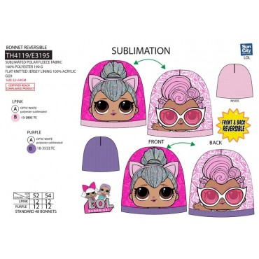 TH4119 - GORRO LOL SURPRISE