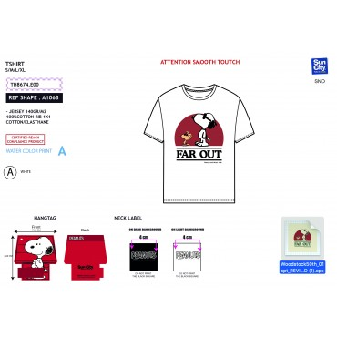 TH8674.E00 - TSHIRT SNOOPY